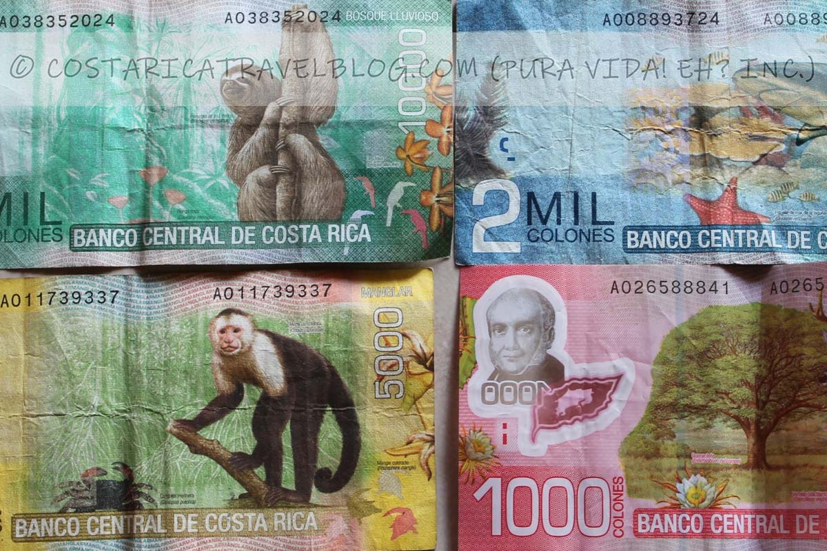 2019) Costa Rican Colones To American Dollars: Exchanging Money In