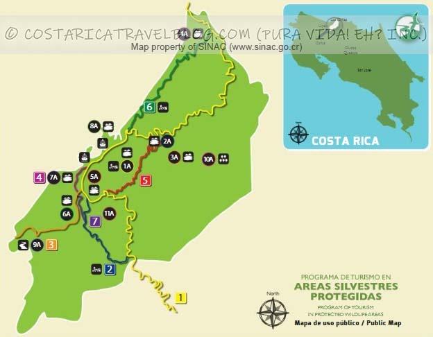 Cano Negro Mixed Wildlife Refuge Trail Map