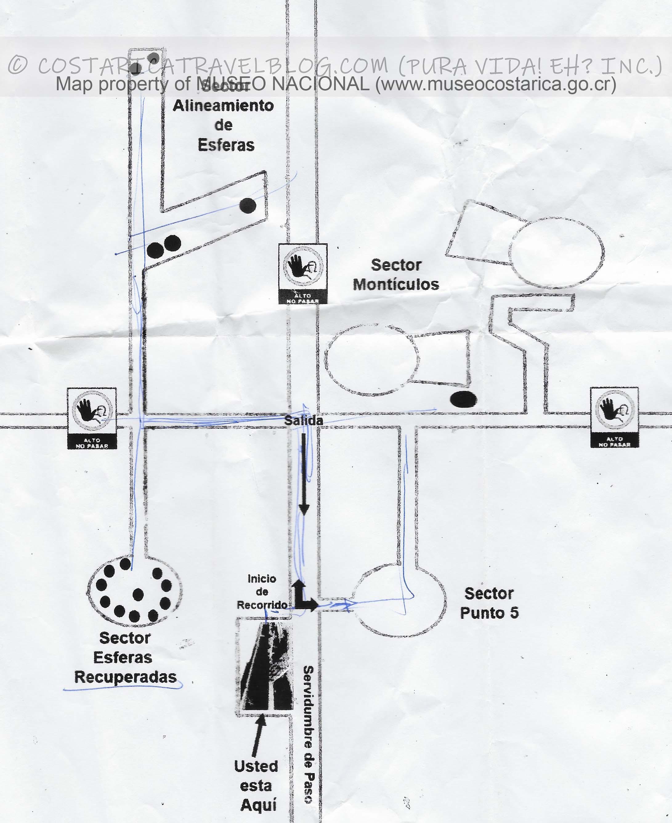 Finca 6 Map