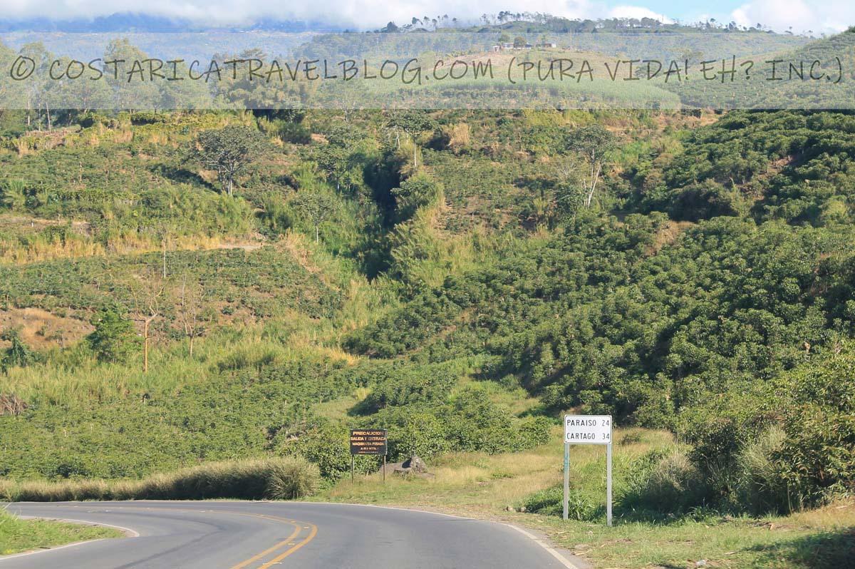 Costa Rica road conditions