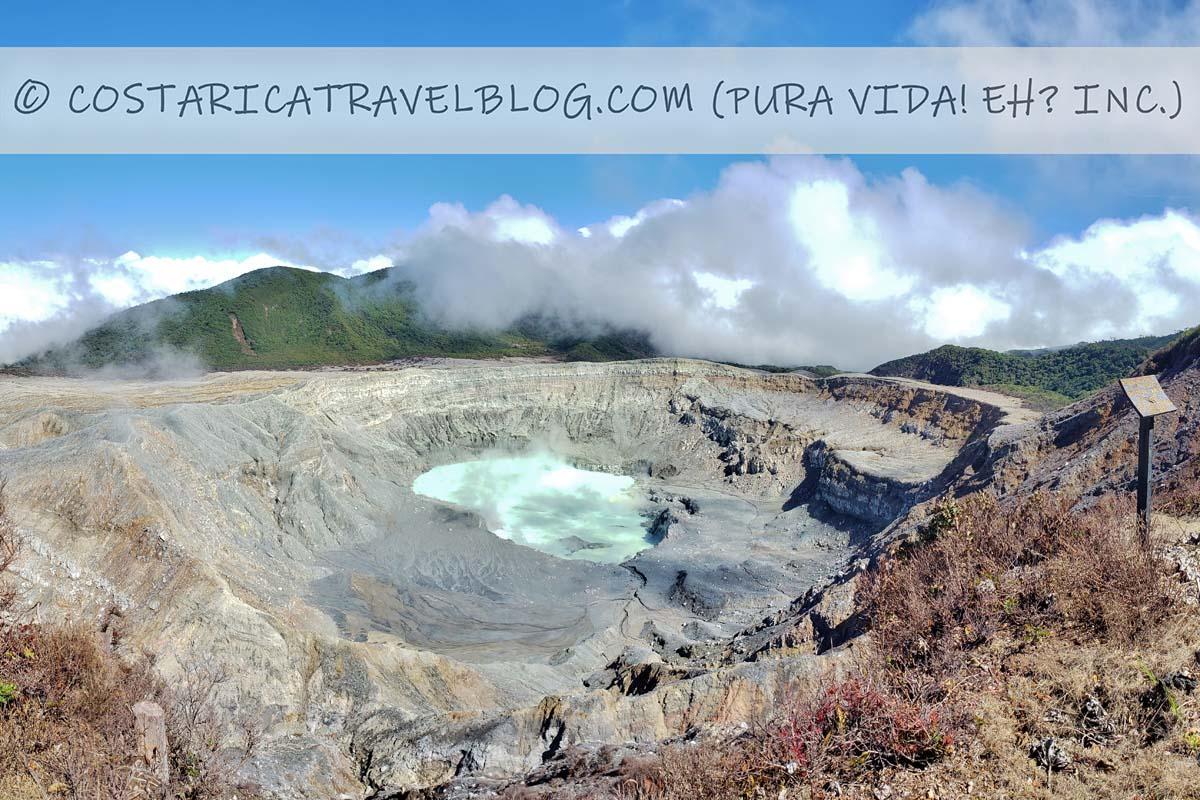 how to reserve the Poas Volcano National Park